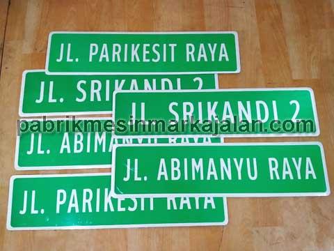 Rambu Papan Nama Jalan